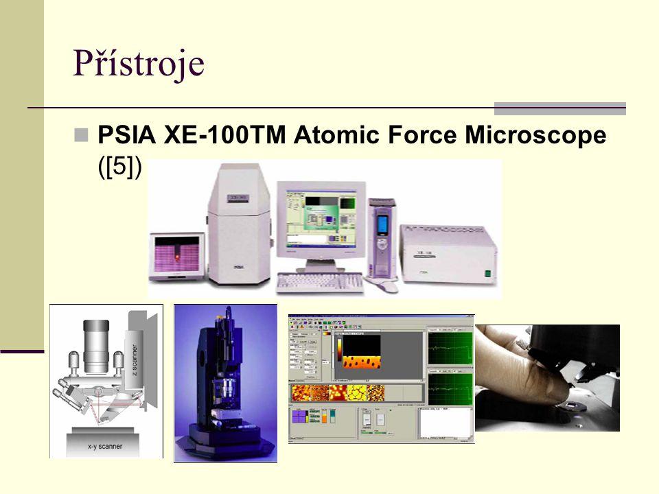 Přístroje PSIA XE-100TM Atomic Force Microscope ([5])